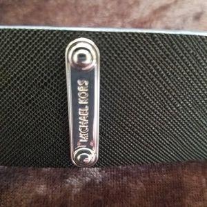 NWT Michael Kors large black belt L new
